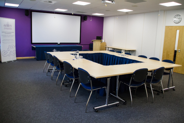 Our large, purpose built meeting room – The Turner Room – is suitable for between 20 to 60 people, depending on how the room is set up.