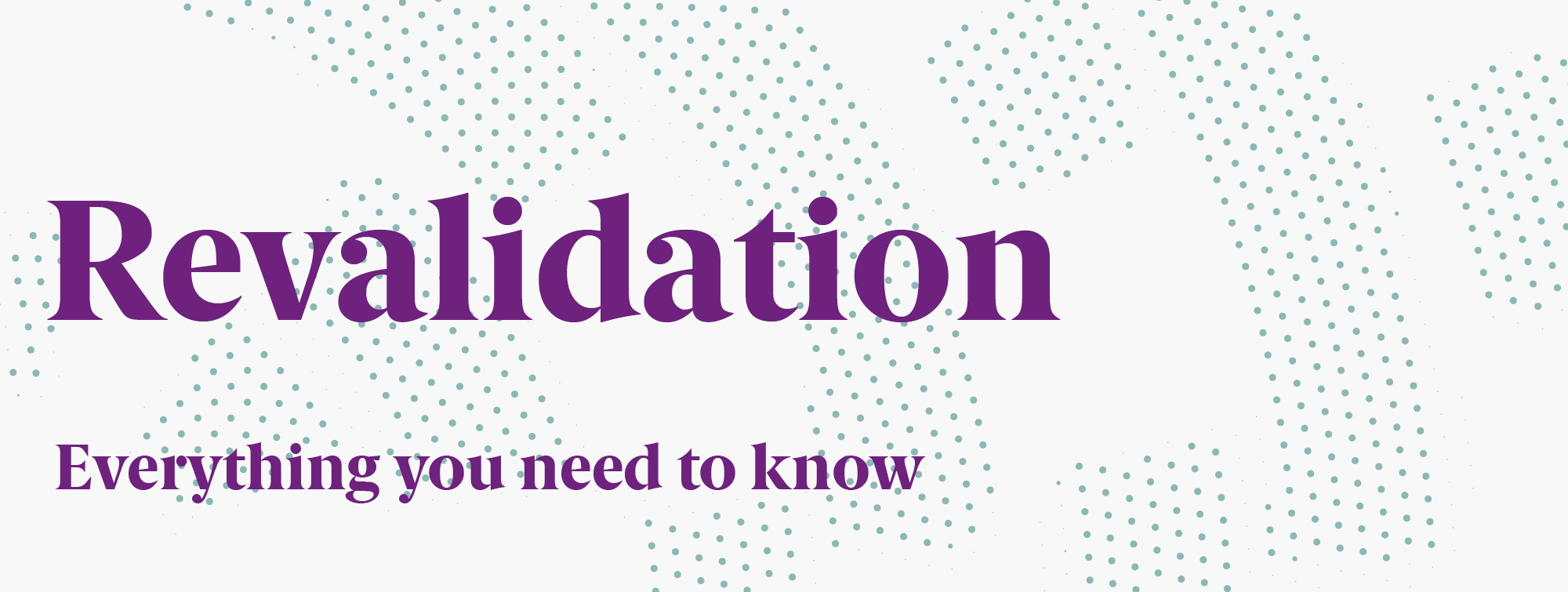 Example Revalidation/CPD records