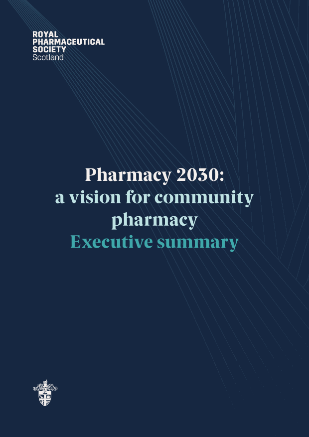 RPS Pharmacy 2030 - Executive summary cover